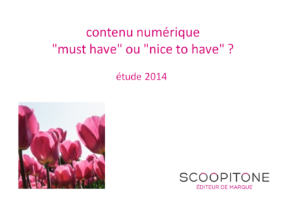 contenu digital 2014