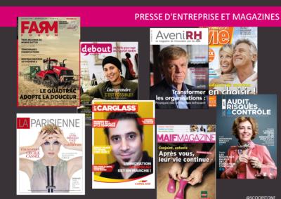 presse d'entreprise et magazine