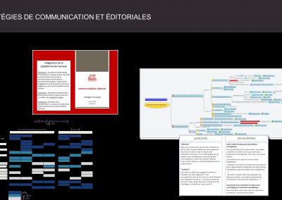 stratégie de communication et éditoriale